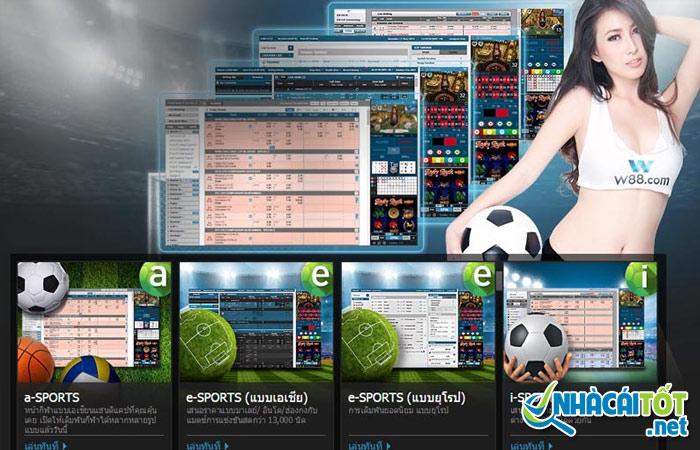 Đa dạng về tỷ lệ cược, tỷ lệ kèo tại các web cá độ bóng đá uy tín