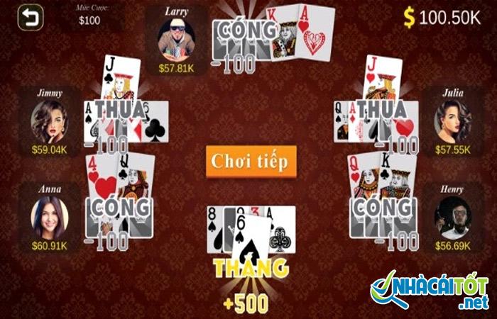 Các thuật ngữ thường dùng trong cách chơi bài catte