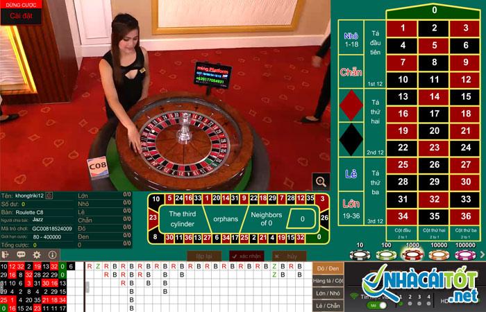 Cách chơi roulette online trăm trận trăm thắng