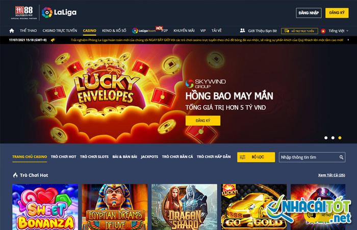 M88 - casino chơi liêng online uy tín