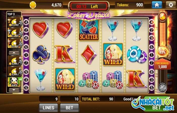 Cách chơi game slot đổi thưởng
