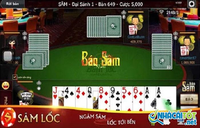 Game bài sâm lốc đổi thưởng online