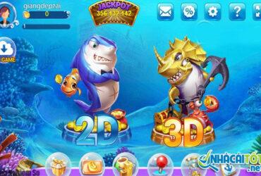 Bắn cá ăn xu đổi thưởng online 3D
