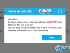 Lưu ý trong cách rút tiền Fun88 để nhận được tiền nhanh hơn